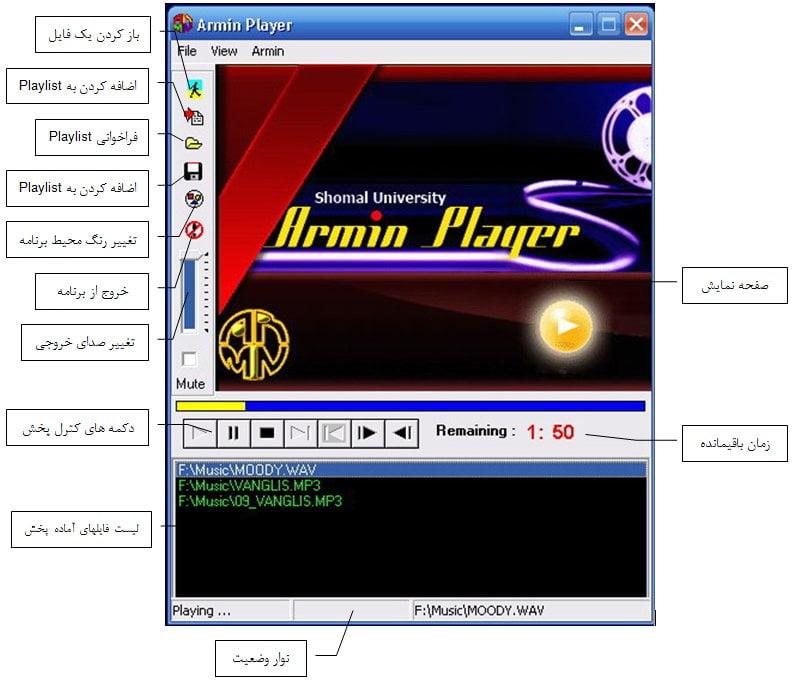 ArminPlayer-buttons