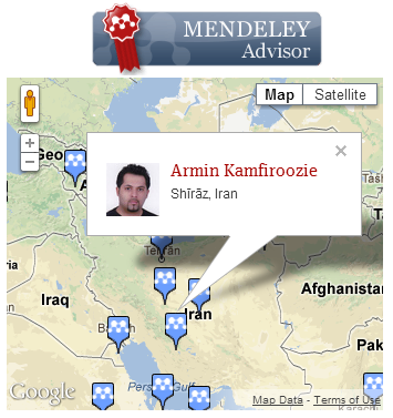 Armin Kamfiroozie Mendeley Advisor