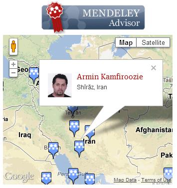 Armin Kamfiroozie Mendeley Advisor
