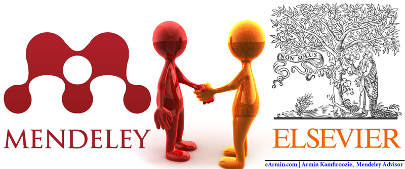 مندلی به الزویر پیوست – Mendeley Joined Elsevier